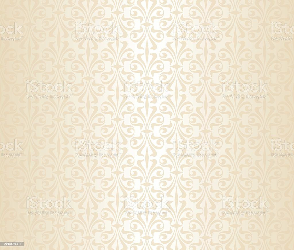 Bright wedding vintage wallpaper stock vector art more for Vintage tapete