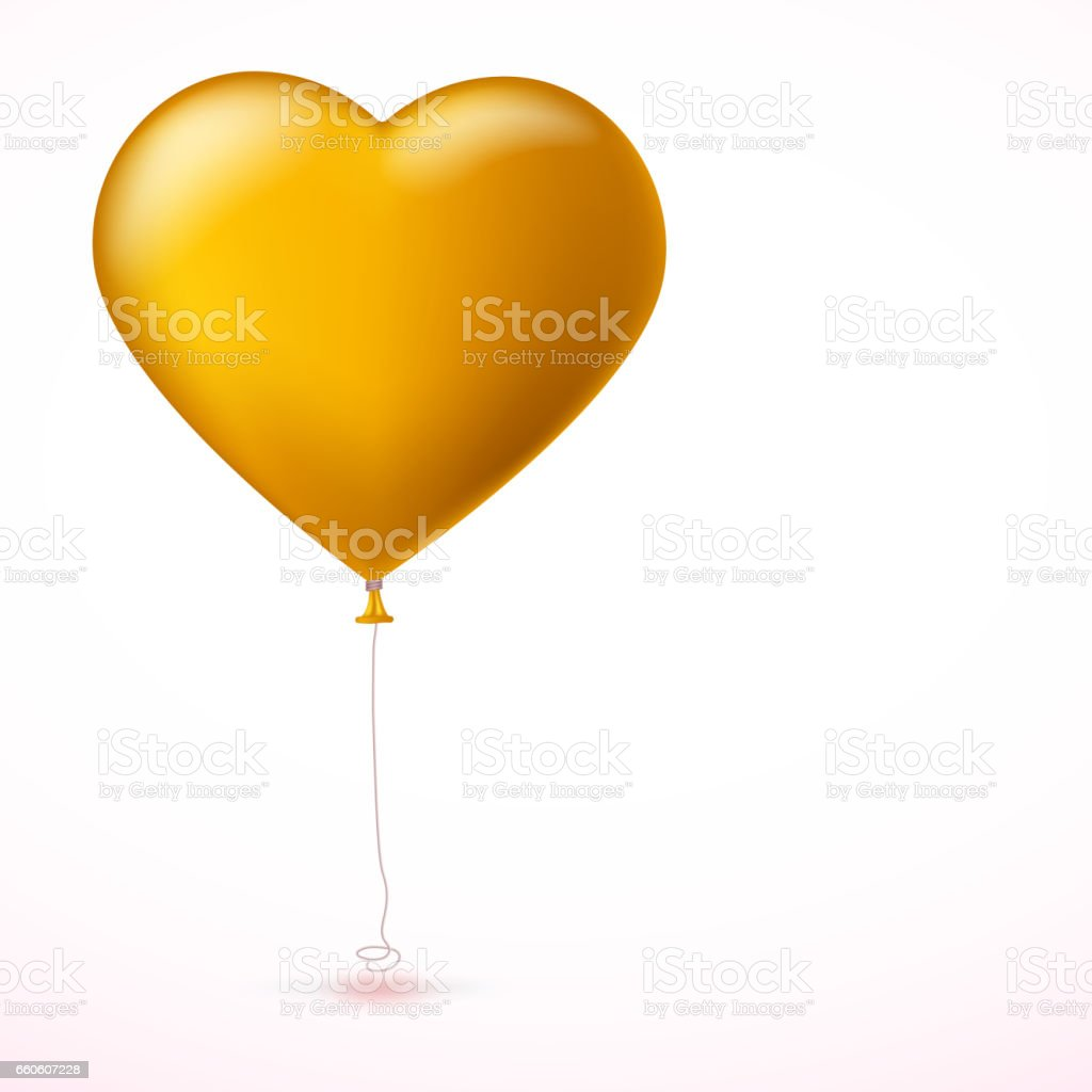 Bright yellow heart, the inflatable balloon in the shape of a big heart with tape, ribbon royalty-free bright yellow heart the inflatable balloon in the shape of a big heart with tape ribbon stock vector art & more images of balloon