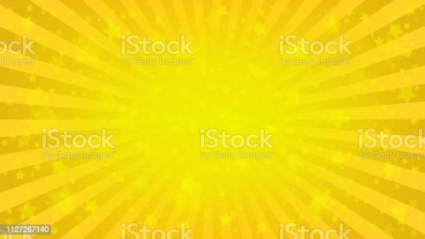Vetores de Fundo Estrelado Amarelo Brilhante e mais imagens de Abstrato