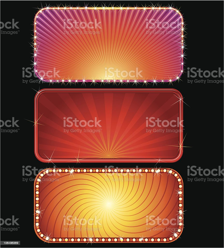 Brightly Billboards royalty-free brightly billboards stock vector art & more images of abstract