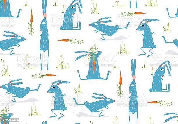 Brightly colored fun cartoon rabbits animals seamless pattern vector id475247464?b=1&k=6&m=475247464&s=612x612&h=6za4rso0zkyl t xqgwx6hzp040w2sn2w7pgl6 7fry=