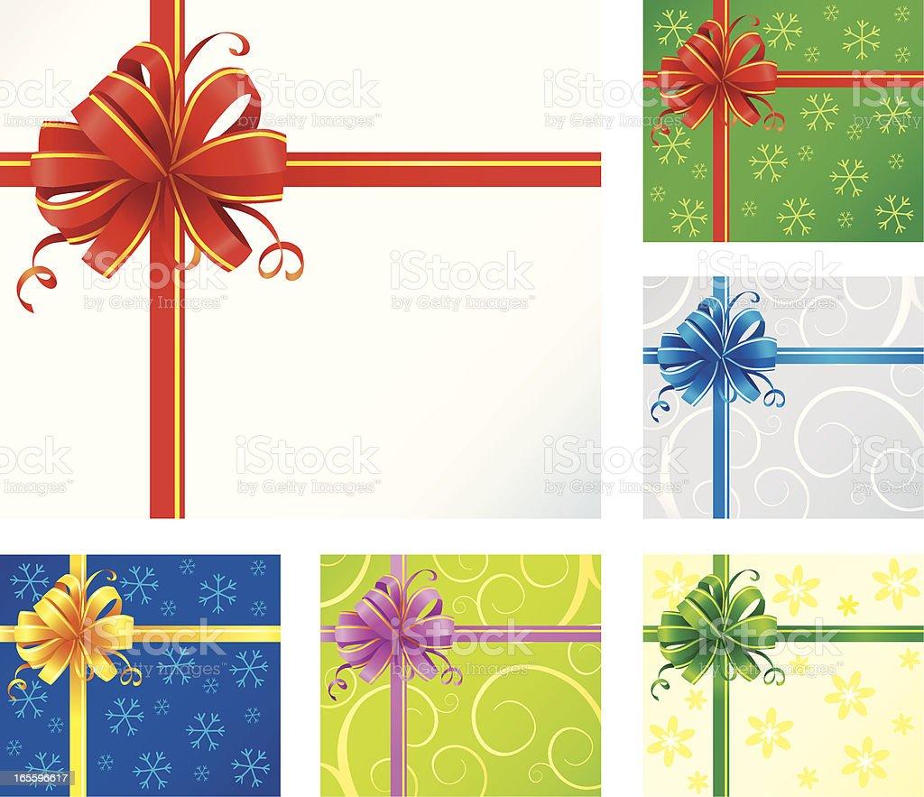 Laço de presente ilustração de laço de presente e mais banco de imagens de aniversário royalty-free