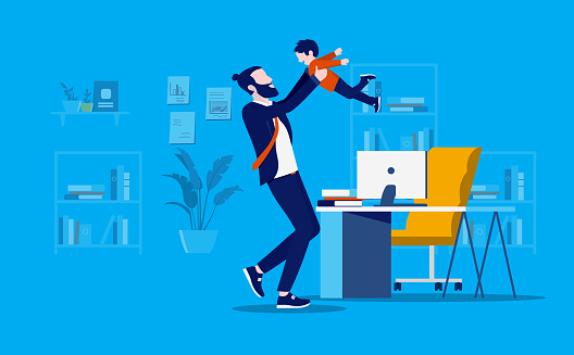 Bringing kids to office