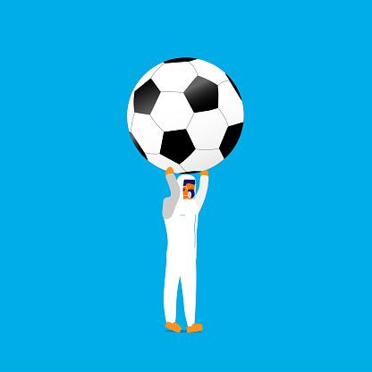 Bringing soccer ball
