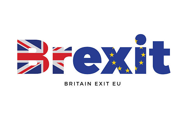 bildbanksillustrationer, clip art samt tecknat material och ikoner med brexit - britain exit from european union on referendum. - brexit
