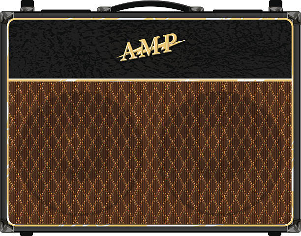 british amp vector art illustration