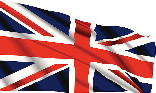 Britische Flagge – Vektorgrafik