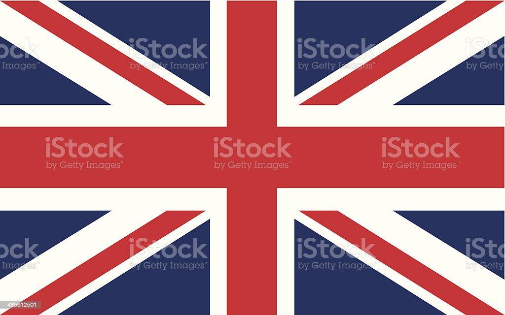 Drapeau britannique illustration - Illustration vectorielle