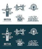 British Landmarks.