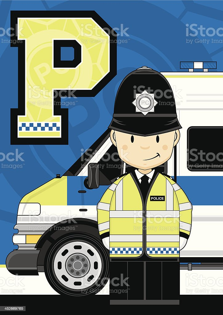British Policemen Letter P royalty-free british policemen letter p stock vector art & more images of alphabet