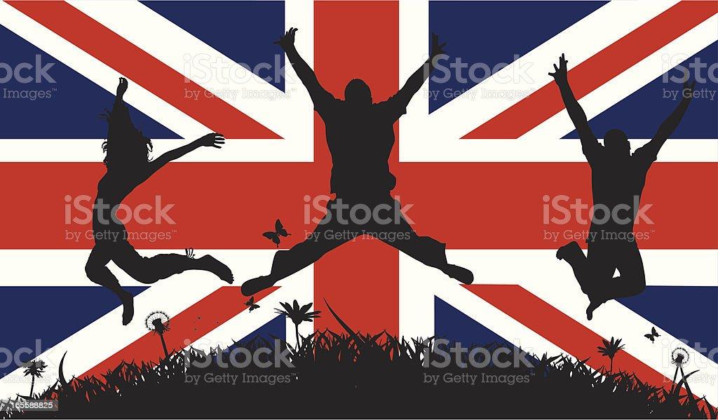 British Pride royalty-free stock vector art