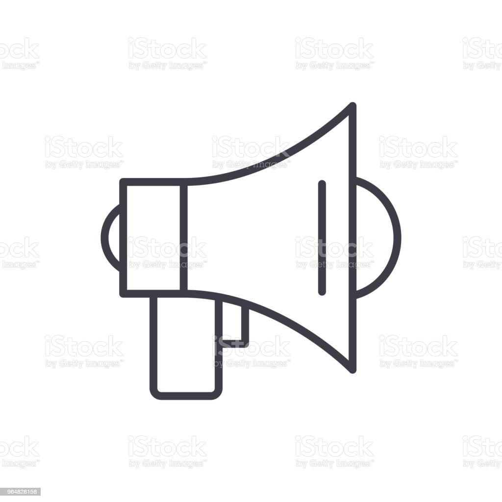 Broadcasting black icon concept. Broadcasting flat  vector symbol, sign, illustration. royalty-free broadcasting black icon concept broadcasting flat vector symbol sign illustration stock vector art & more images of antenna - aerial