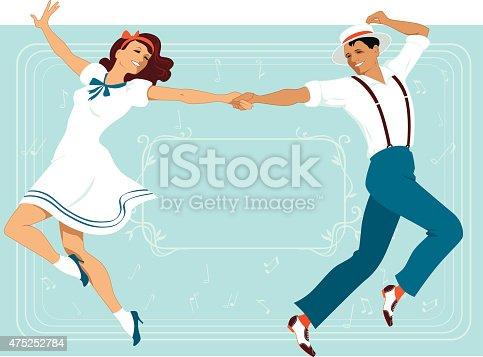 Rock Roll Dancing Stock Illustrations – 1,592 Rock Roll Dancing Stock  Illustrations, Vectors & Clipart - Dreamstime