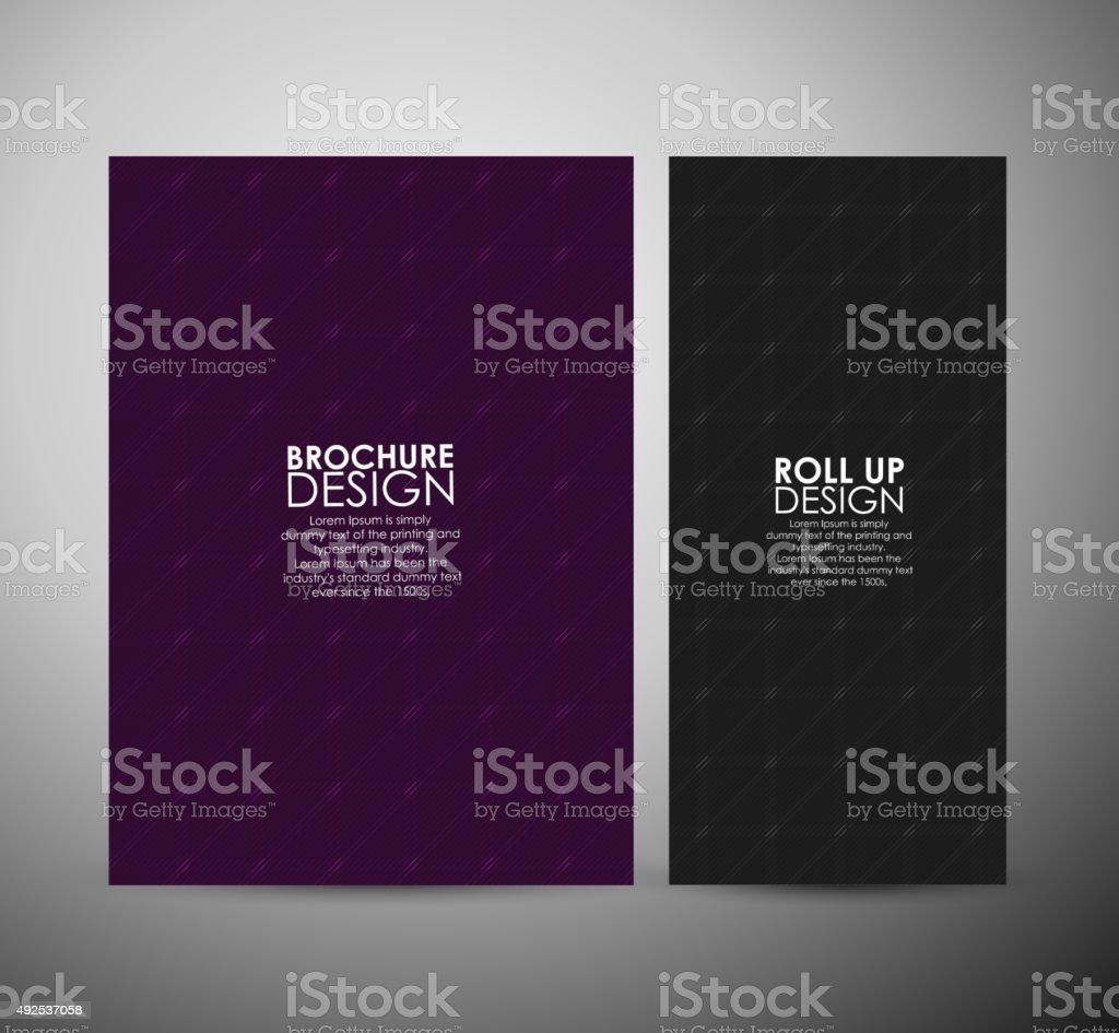 folheto de negócios de padrão de fundo abstrato de projeto ou modelo