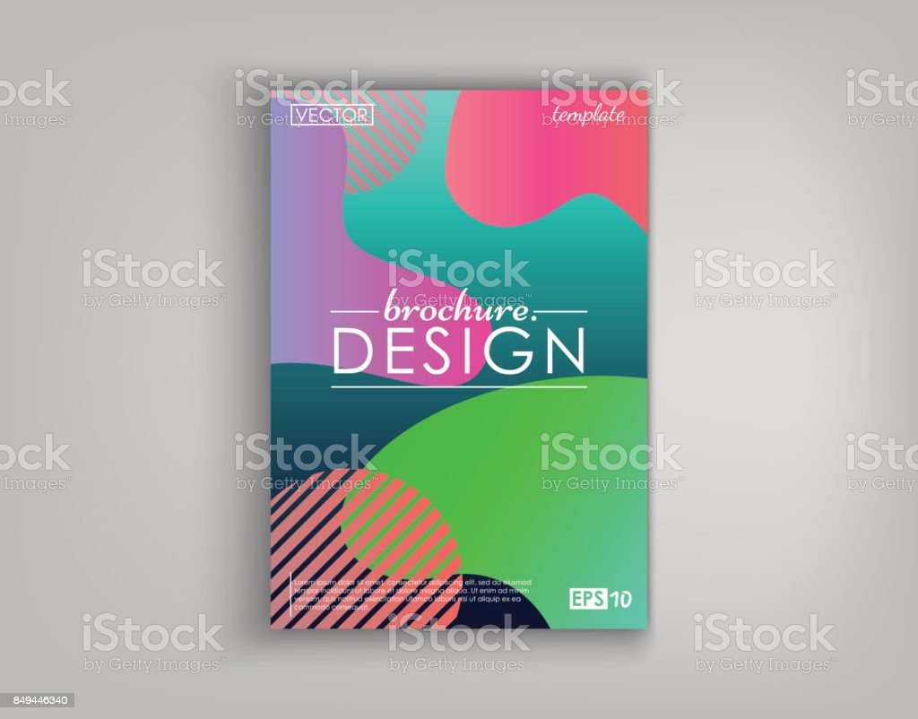 Brochure cover design cards isolated dynamic fashion flat design brochure cover design cards isolated dynamic fashion flat design poster banner flyer reheart Gallery