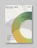Flyer - Leaflet, Abstract, Annual Report, Architecture
