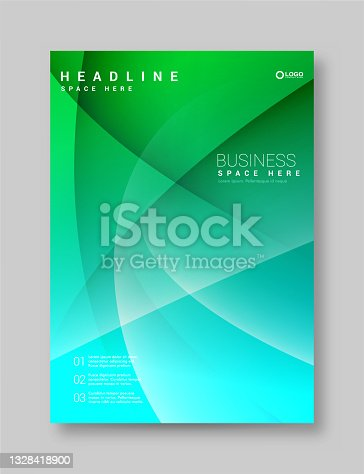 istock Brochure cover design layout set for business stock illustration stock illustration 1328418900