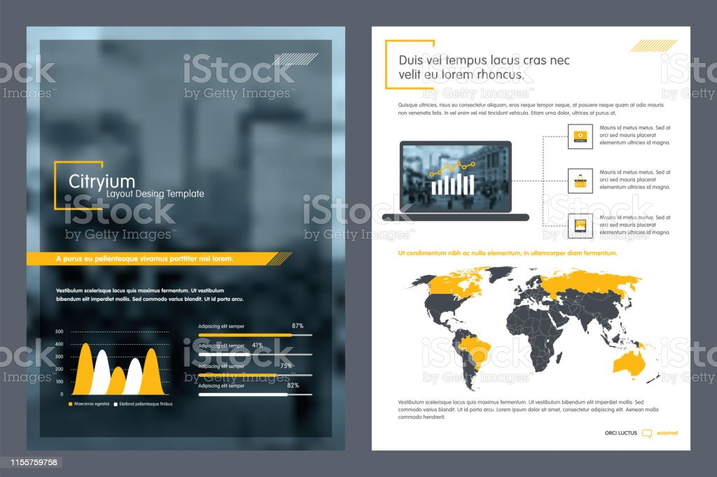 Brochure Creative Design Report Template And Presentations
