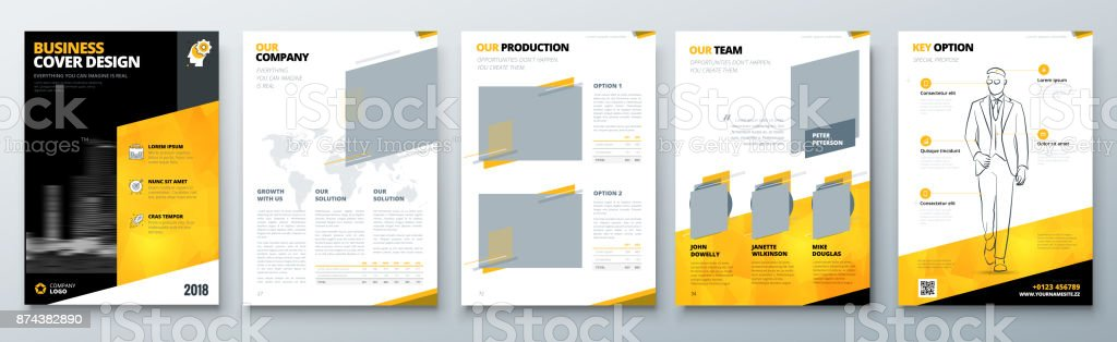 Brochure design black yellow corporate business template for black yellow corporate business template for brochure report catalog magazine cheaphphosting Choice Image