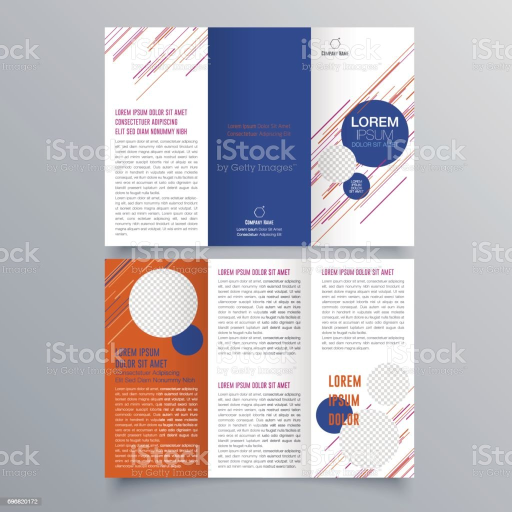 Brochure Design Brochure Template Creative Trifold Trend Brochure - Free downloadable brochure templates