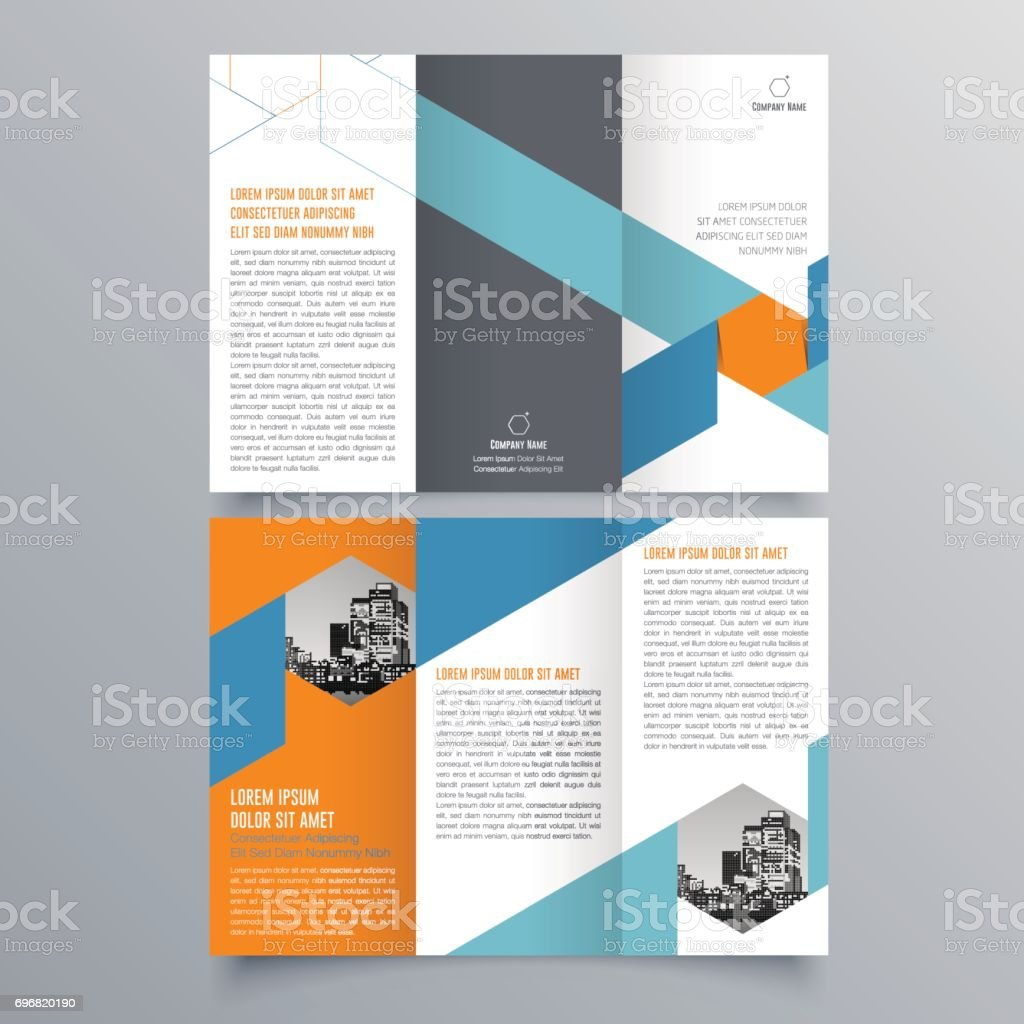 Brochure Design Brochure Template Creative Trifold Trend Brochure - Membership brochure template
