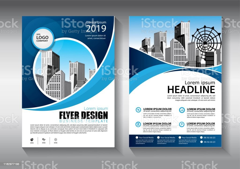 Brochure design, cover modern layout, annual report, poster, flyer in...