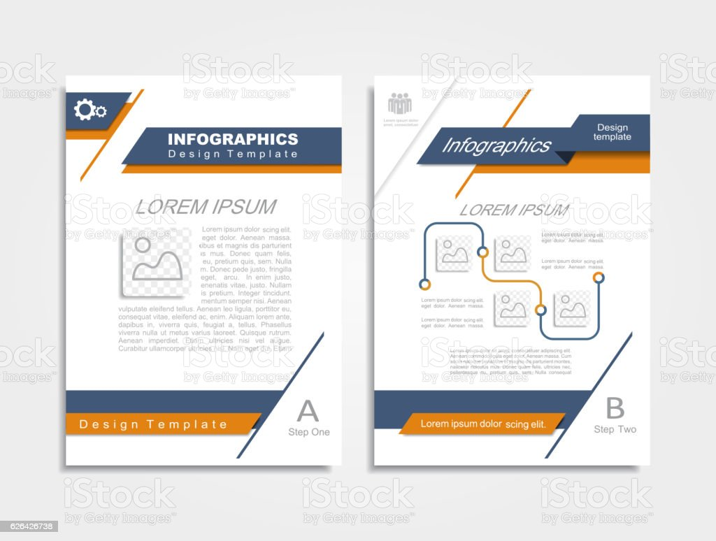 Brochure design layout. Vector illustration. vector art illustration