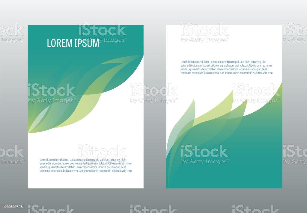 Vecteur de modèle de conception de brochure de a4. Illustration de la couverture de page rapport annuel. vecteur de modèle de conception de brochure de a4 illustration de la couverture de page rapport annuel vecteurs libres de droits et plus d'images vectorielles de abstrait libre de droits