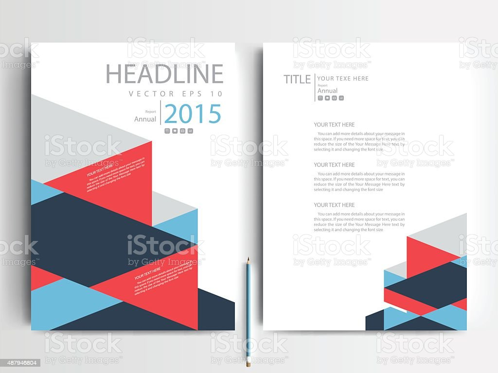 Brochure design templates layout  Vector - Illustration vector art illustration