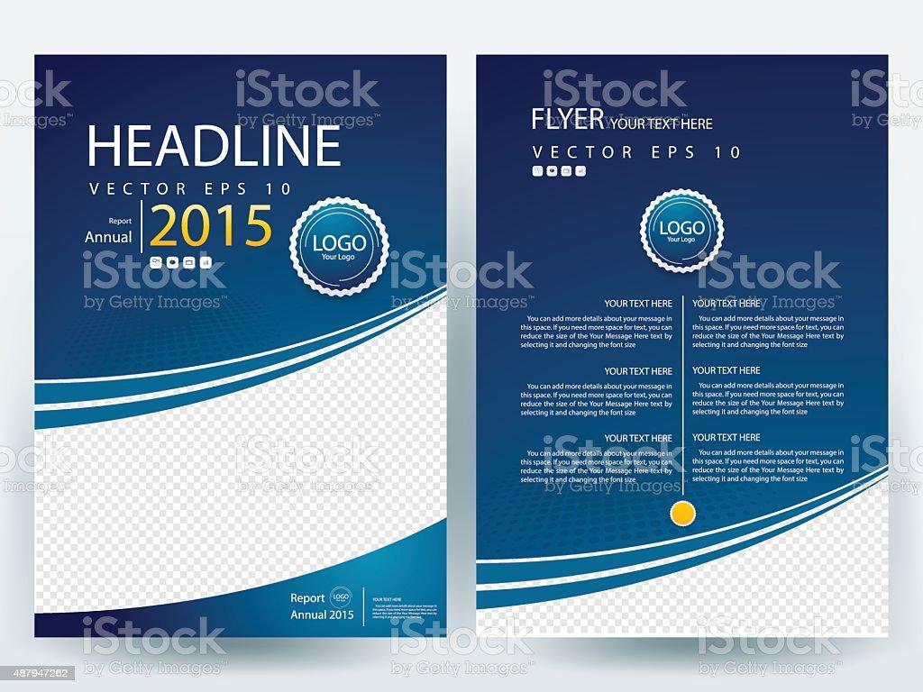 Brochure design templates layout  Vector - Illustration vector art illustration