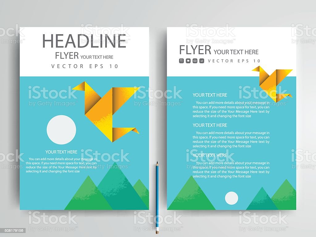 Broschüre Designvorlagen Design Vektorillustration Vektor ...