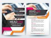Brochure design templates layout  Vector - Illustration