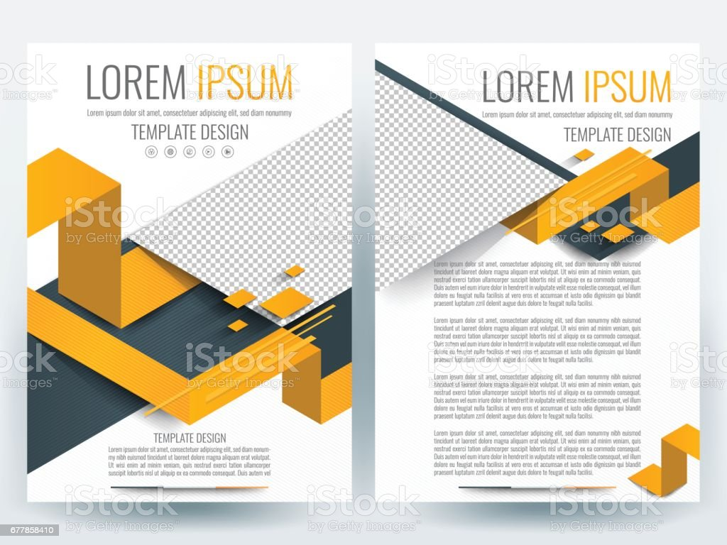Brochure design templates layout Vector - Illustration royalty-free brochure design templates layout vector illustration stock vector art & more images of abstract