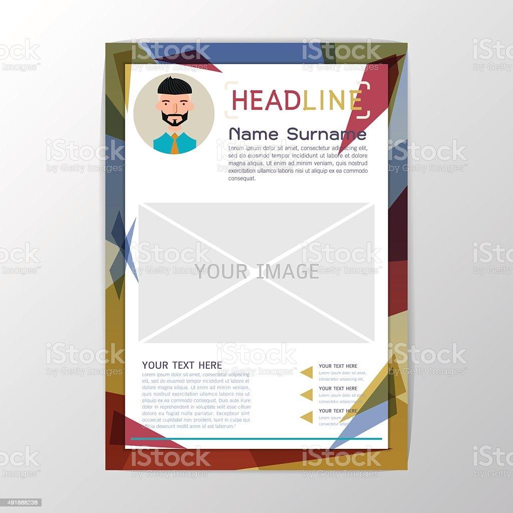 background for resume