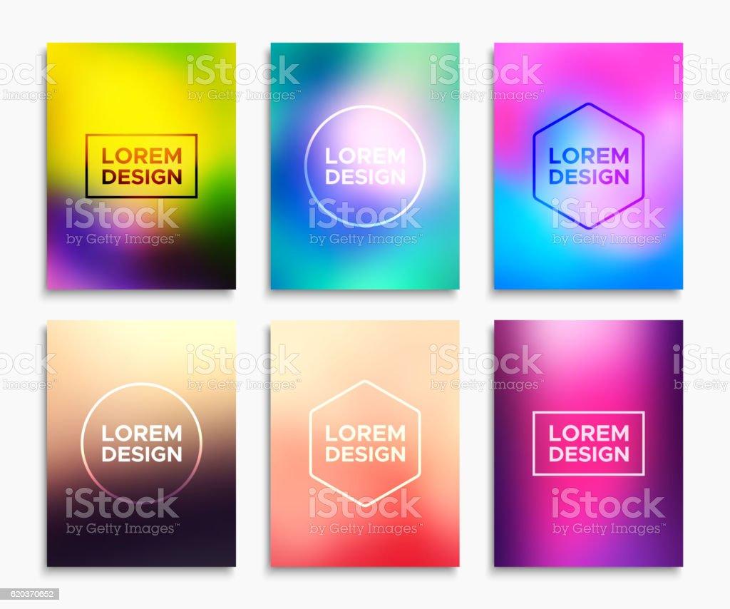 Brochure flyer layouts in A4 size. Vector banners brochure flyer layouts in a4 size vector banners - stockowe grafiki wektorowe i więcej obrazów abstrakcja royalty-free