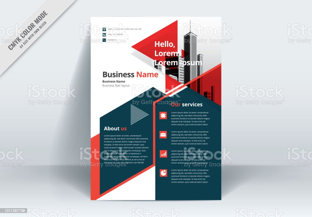 Brochure Flyer Template Layout Background Design Booklet Leaflet Corporate Business Annual Report