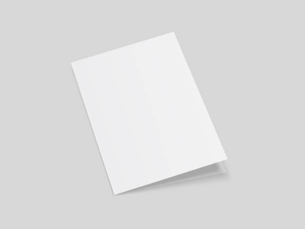 składanie broszury 4 - broszura stock illustrations