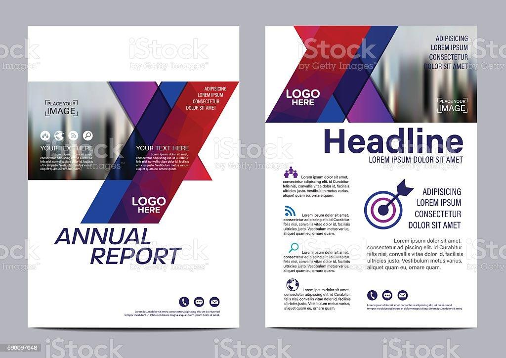 Brochure Layout design template. Annual Report Flyer Leaflet vector Lizenzfreies brochure layout design template annual report flyer leaflet vector stock vektor art und mehr bilder von abstrakt