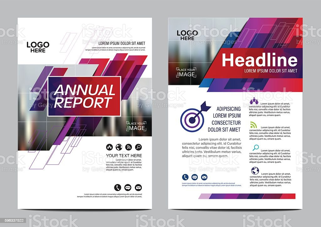 Brochure Layout design template. Annual Report Flyer Leaflet vector royalty-free brochure layout design template annual report flyer leaflet vector stock vector art & more images of abstract