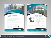 Brochure layout design template