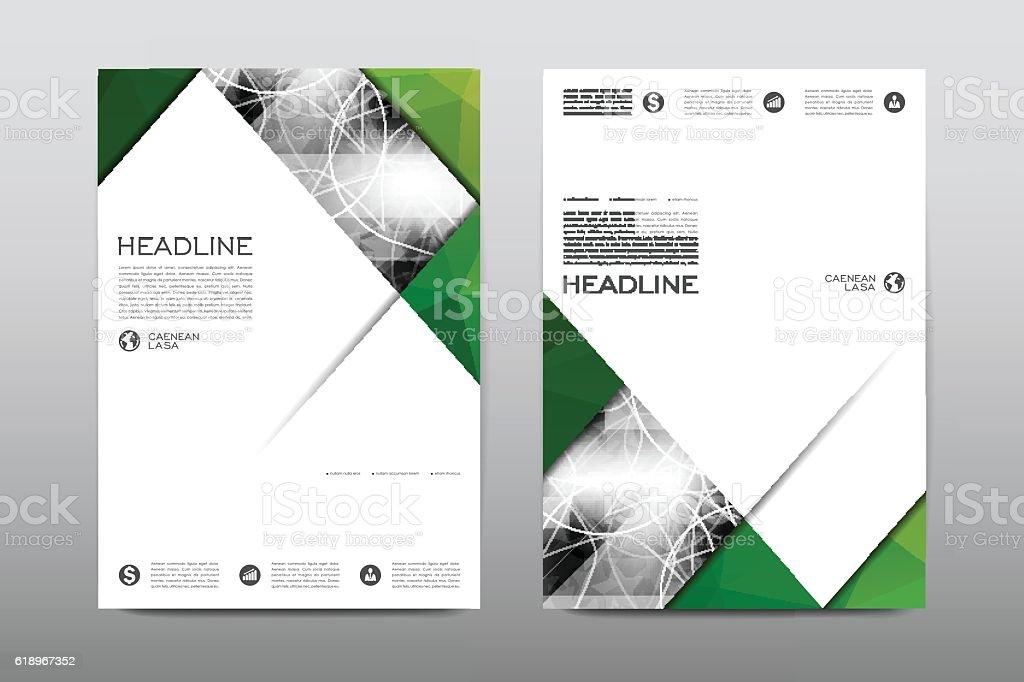 brochure formato design vettoriale modello flyer copertina della
