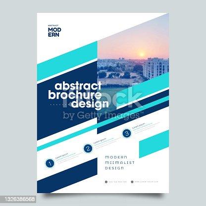 Brochure, leaflet, flyer, cover template
