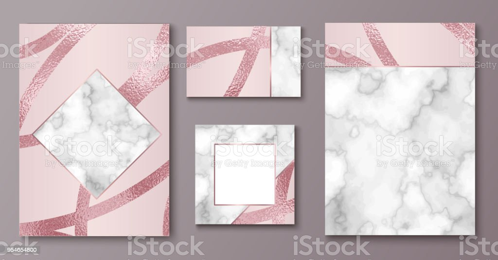 Brochure Ou Vip Jeu De Conception Demballage Modele De Luxe