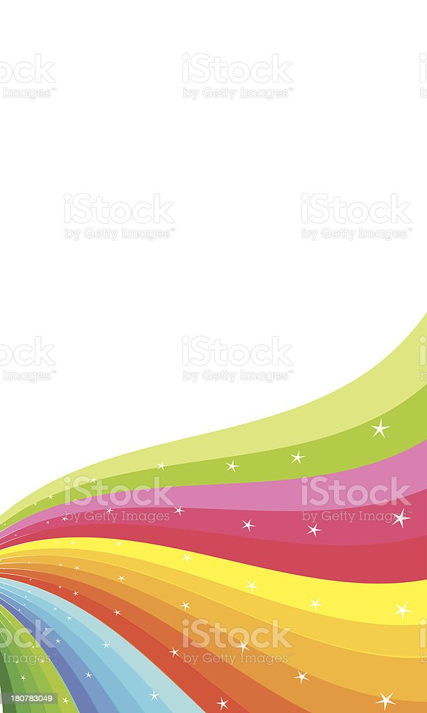 brochure rainbow colors royalty-free stock vector art