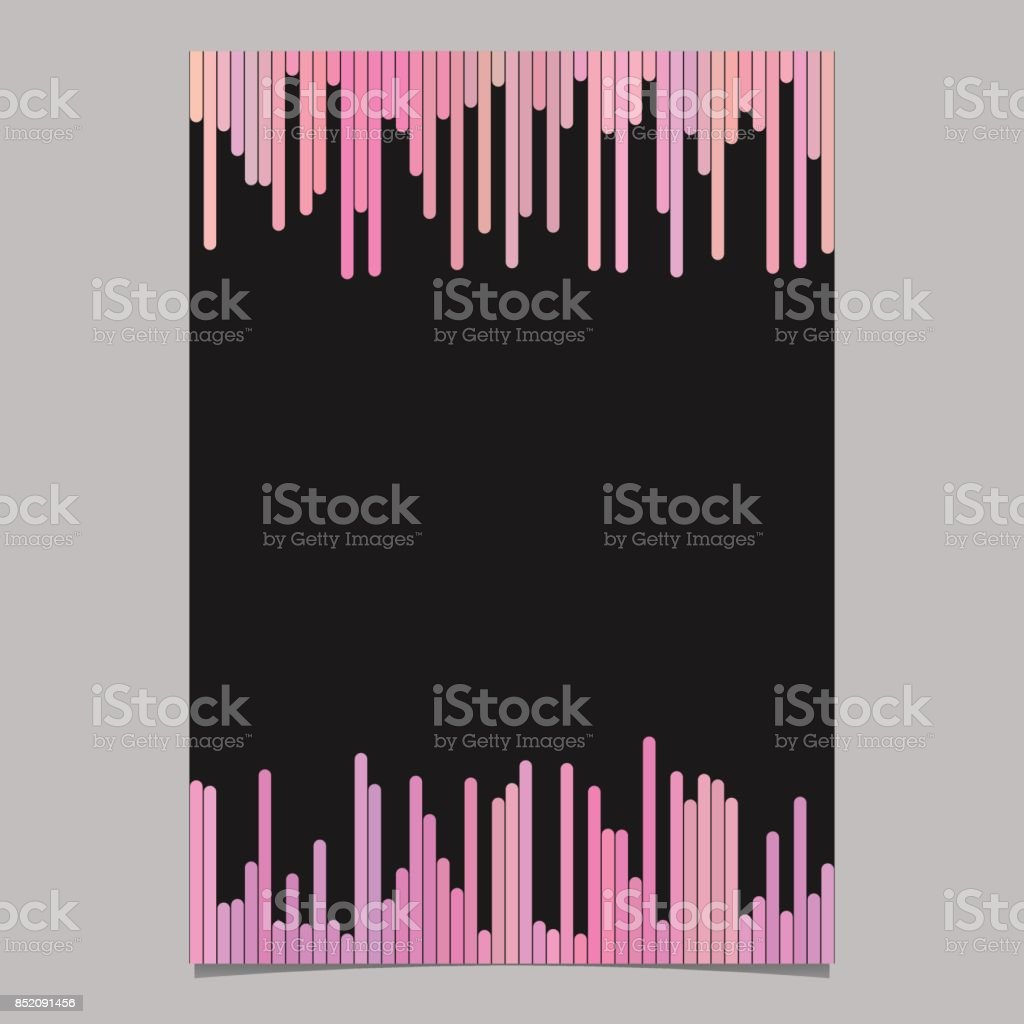 brochure template blank vector stationery document design with