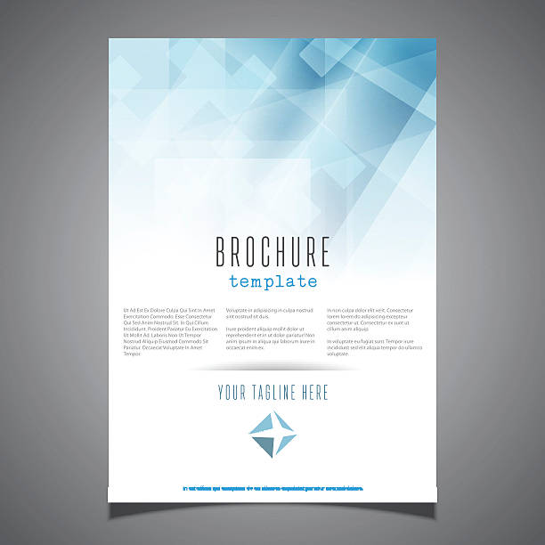 Royalty free business report clip art vector images illustrations brochure template design vector art illustration business report cheaphphosting Images