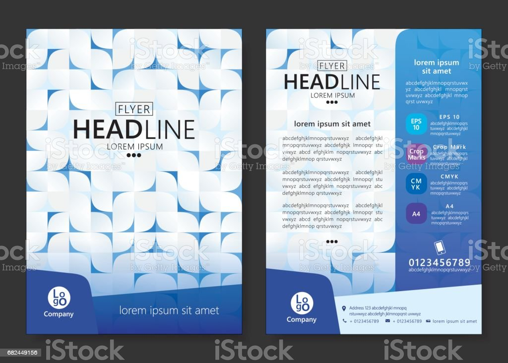 Brochure template design royalty-free brochure template design stock vector art & more images of advertisement