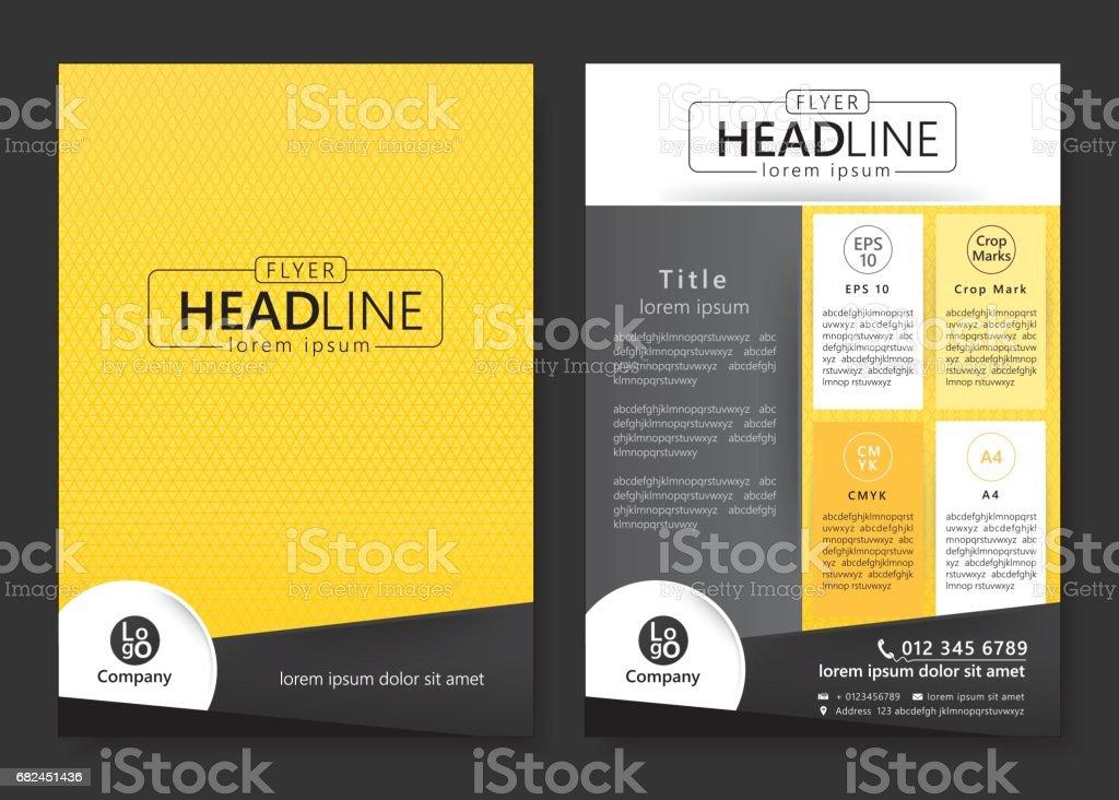 Brochure template design royalty-free brochure template design stock vector art & more images of advertisement
