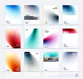 istock Brochure template layout, cover design annual report, magazine, 546445880