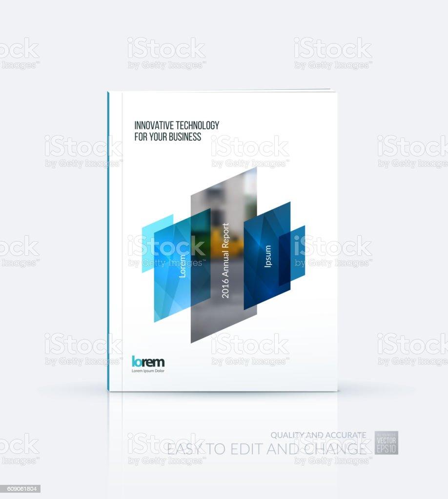 Plantilla De Diseño De Folleto Informe Anual De Diseño De Portada ...
